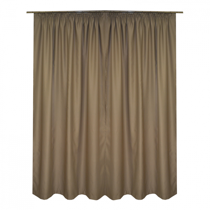 Set draperii Velaria blackout bej, 2*150x245 cm 1