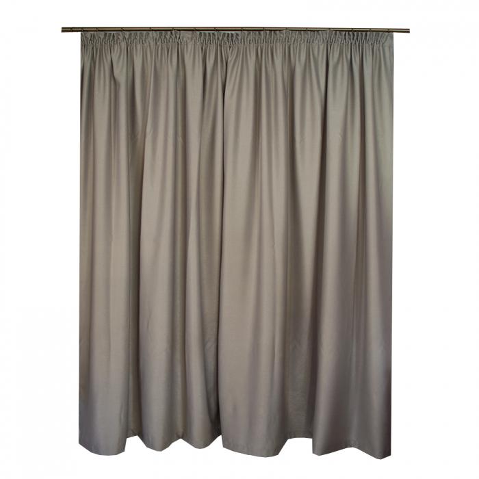 Set draperii Velaria soft gri, 2*270x245 cm 1
