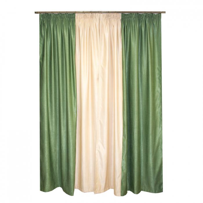 Set draperii Velaria in 2 culori, 2*160x245 cm 1