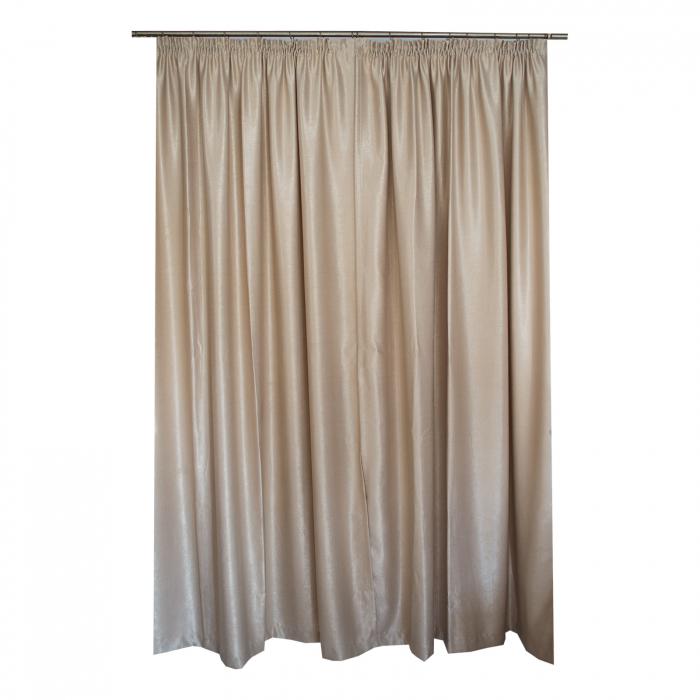 Set draperii Velaria soft grej, 2*230x235 cm [1]