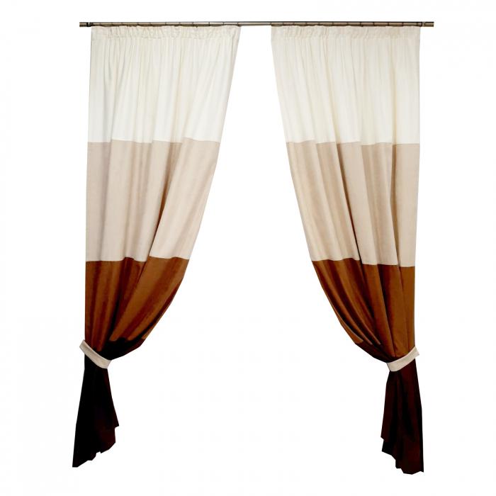 Set draperii Velaria degrade, 2x135x235 cm 0