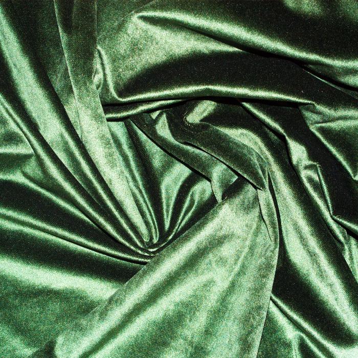 Set draperii Velaria catifea verde metalic, 2*150x270 cm 2