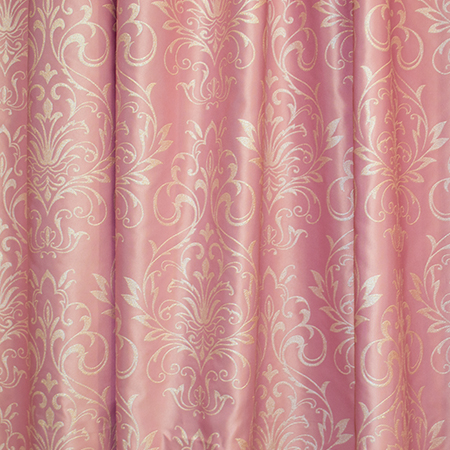 Set draperii Velaria tafta roz pictata cu rejansa, diverse dimensiuni [2]
