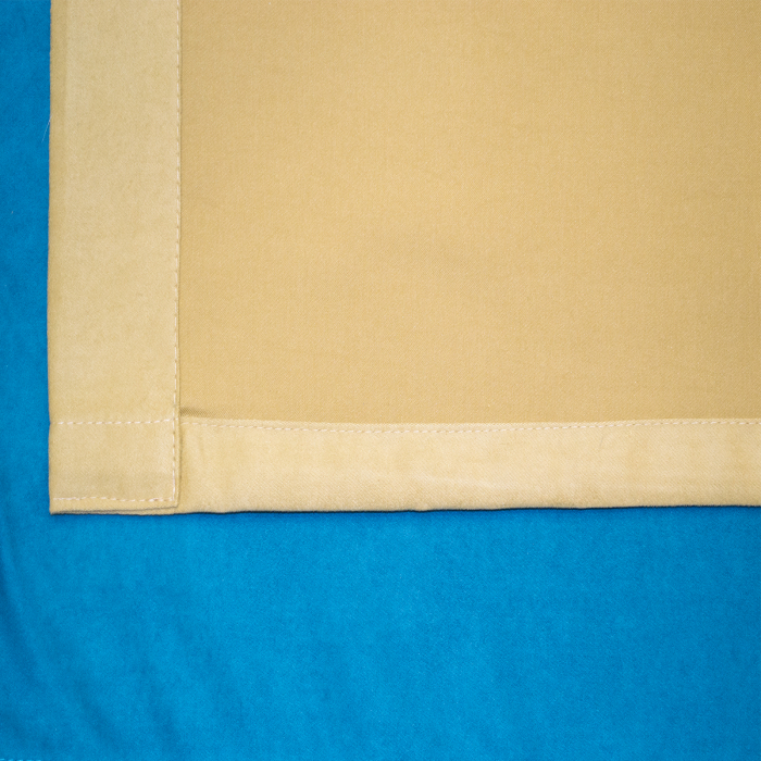 Set draperii Velaria turcoaz-bej [4]