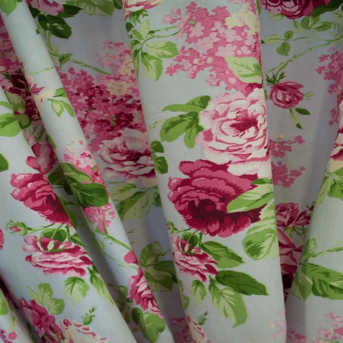 Set draperii Velaria trandafiri roz 2