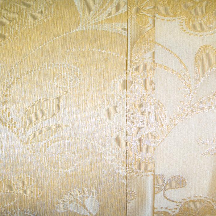 Set draperii Velaria tafta cu flori, 2x145x260 cm 4