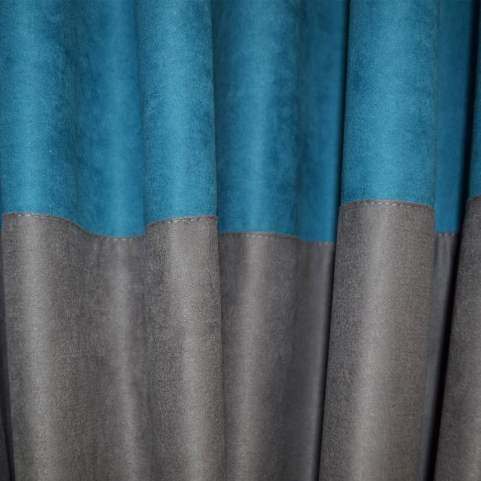Set draperii Velaria turcoaz gri 2x200x230 cm 2