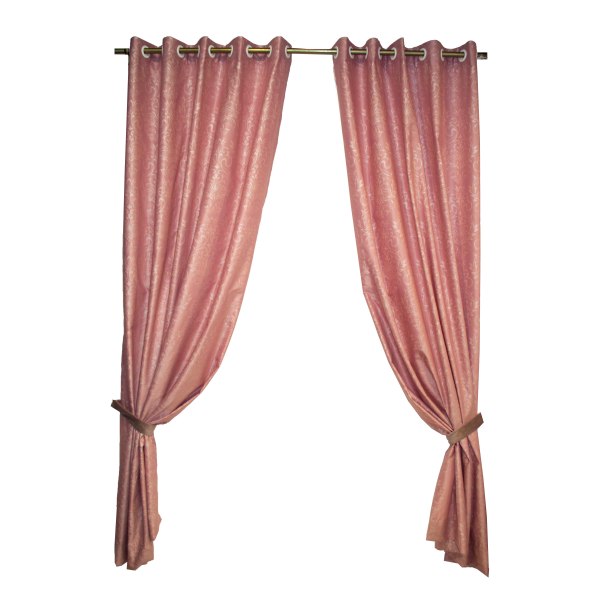 Set draperii Velaria tafta roz pictata, diverse dimensiuni [0]