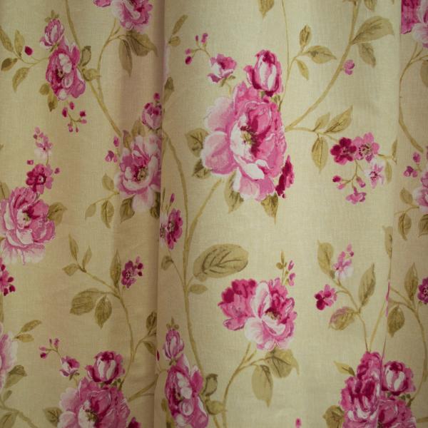 Set draperii simfonie roz, 2x150x260 cm 2