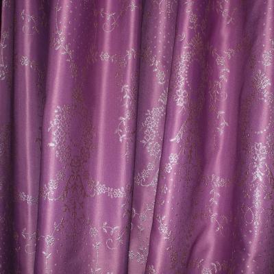 Set draperii Tafta mov, 2x185x245 cm2