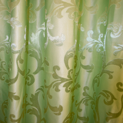 Draperie  jacard just verde 525x245 cm2