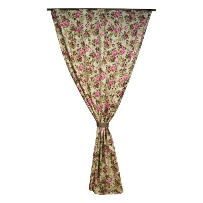 Draperie Velaria floral roz/gri, diverse dimensiuni0