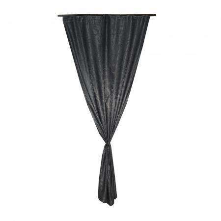 Draperie Velaria jacard linii gri, 125x245 cm2