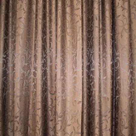 Set draperii Velaria jacard wenge, 2*190x245 cm2