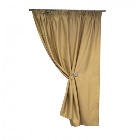 Draperie Velaria soft grej, 150x155 cm0