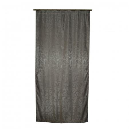 Draperie Velaria jacard linii gri, 125x245 cm0