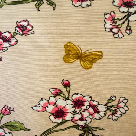 Draperie Velaria teflonata flori de cires, diverse culori1