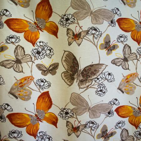 Draperie Velaria teflonata fluturi, diverse culori0
