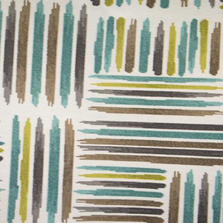 Draperie Velaria teflonata cu dungi asimetrice, diverse culori1