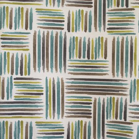 Draperie Velaria teflonata cu dungi asimetrice, diverse culori0