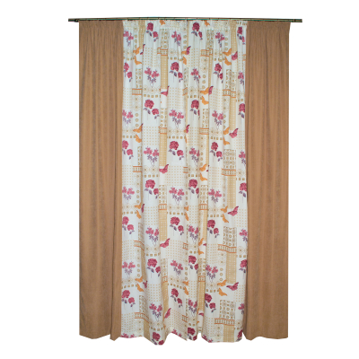 Set draperii Velaria fori grena, 2x135x260 cm1