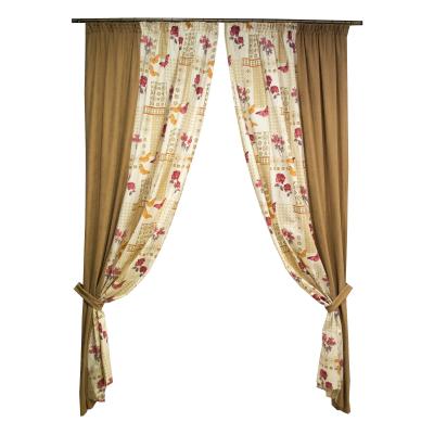 Set draperii Velaria fori grena, 2x135x260 cm0