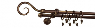 Galerie dubla culoare bronz patina fi16 [2]