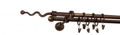 Galerie dubla culoare bronz patina fi16 [8]