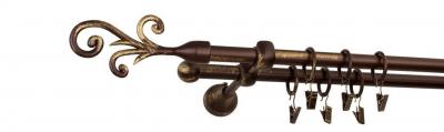 Galerie dubla culoare bronz patina fi16 [0]