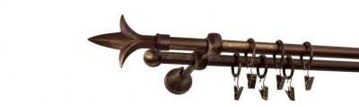 Galerie dubla culoare bronz patina fi16 [4]
