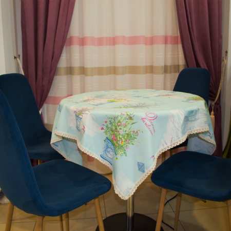 Napron Velaria lavanda turqoise 0,55x0,75 cm3
