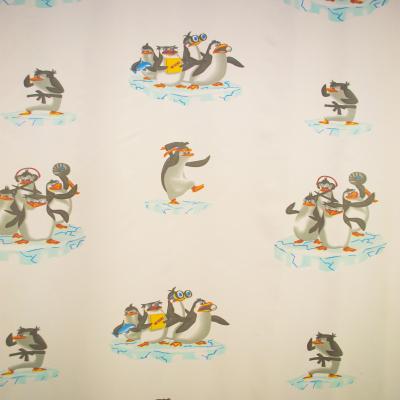 Perdea Velaria voal cu pinguini 170x245 cm1