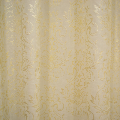 Perdea Velaria baroc pictat auriu, 325x175 cm [1]