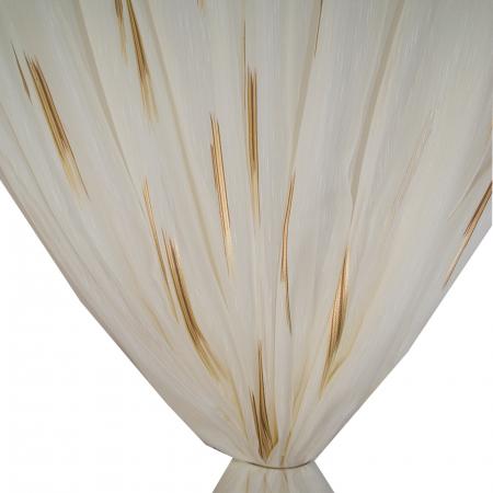 Perdea Velaria linii maro, 260x245 cm2