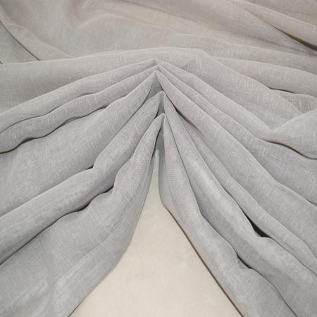 Perdea Velaria in gri cu rejansa, 890x250 cm2