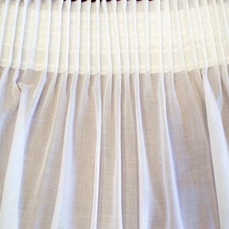 Perdea Velaria in sude heavy alb, 230x240 cm [2]