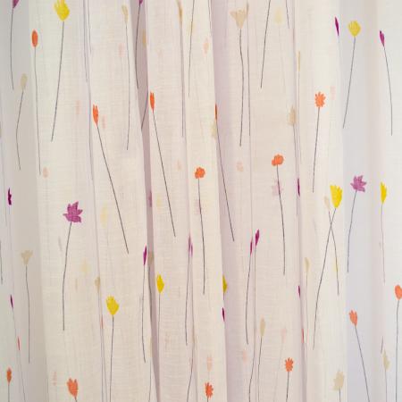 Perdea Velaria flori de camp, 450x165 cm1