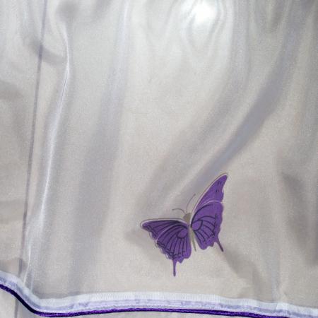 Perdea Velaria fluturi mov, 490x175 cm2