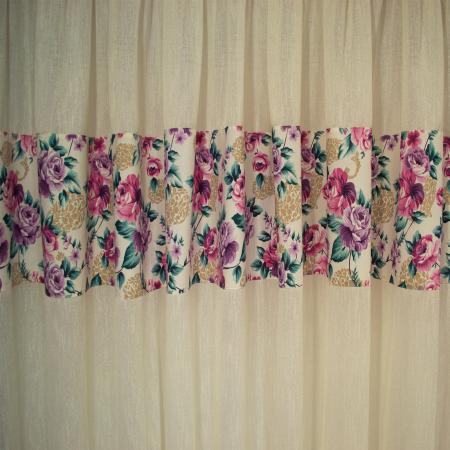 Perdea Velaria luxor floral, 400x160 cm1