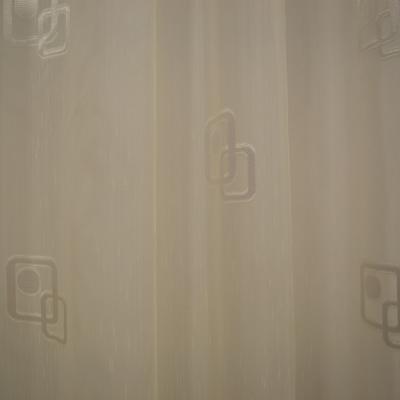 Perdea Velaria sable cu patrate, 280x145 cm2