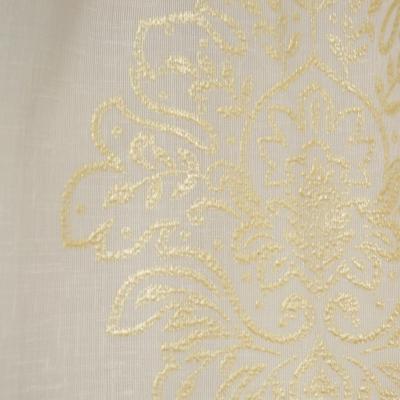 Perdea Velaria in ivoire cu baroc auriu2