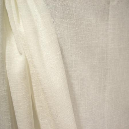 Perdea Velaria in ivoire gros cu imprimeu floral, 245x145 cm2
