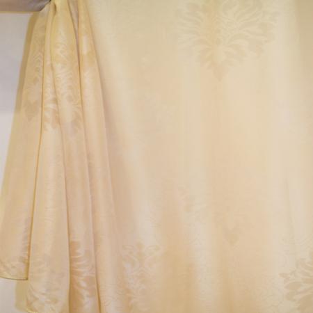 Perdea Velaria baroc bej, 225x245 cm2