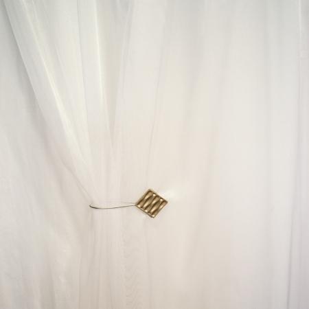 Perdea Velaria alba, lucioasa, 155x245 cm2