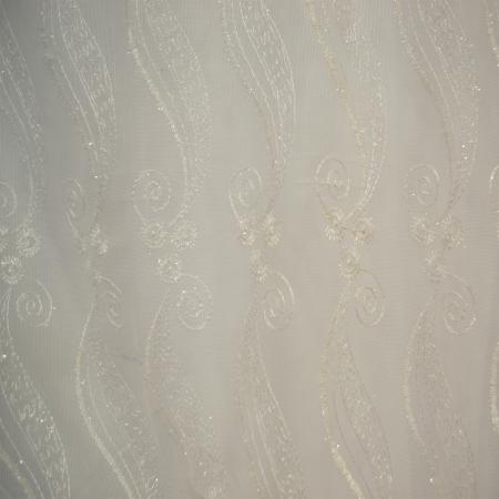 Perdea Velaria tul brodat, 155x250 cm [2]