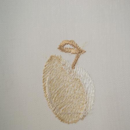 Perdea Velaria de bucatarie, cirese crem, 155x165 cm1