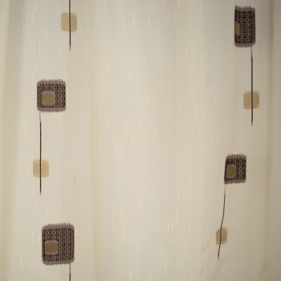 Perdea Velaria sable cu patrate, 240x185 cm [1]