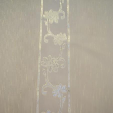 Perdea Velaria sable flori unt, 150x110 cm2
