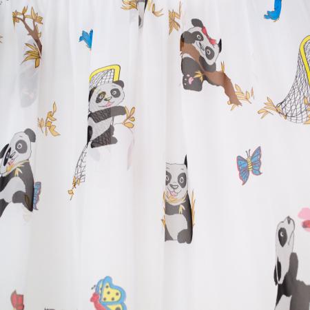 Perdea Velaria ursul panda, 300x165 cm2