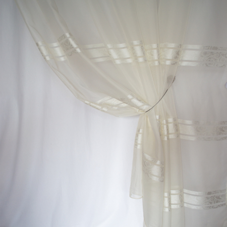 Perdea Velaria voal Elizabeth ivoire, 280x250 cm2